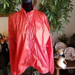 American Apparel red thin lightweight jacket